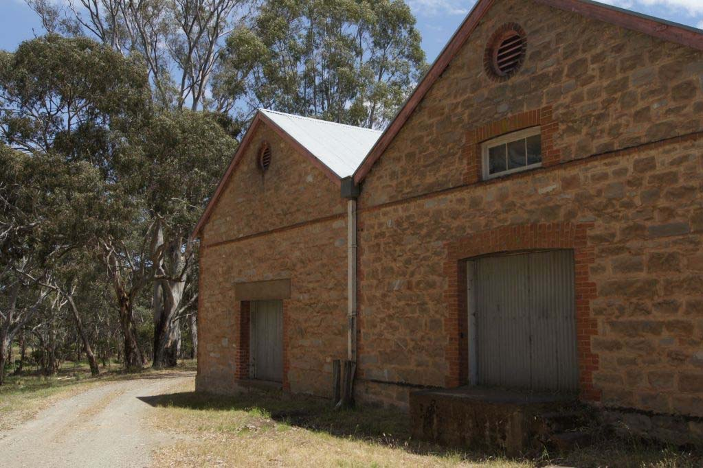 Old buildings at Wendouree cellars