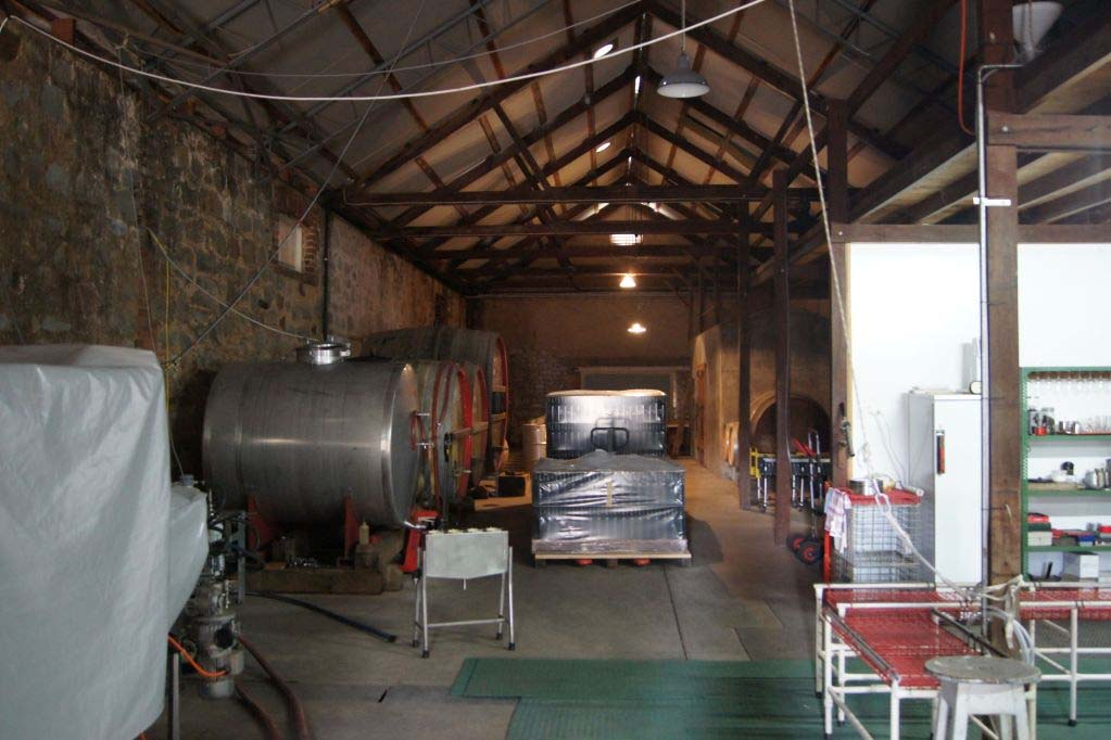 Winemaking at Wendouree Cellars