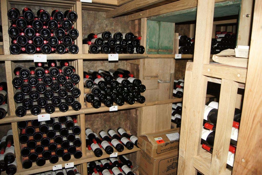 The vintage Wendouree collection at Wendouree Cellars cellar door