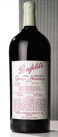 Penfolds Grange Imperial on auction in New York
