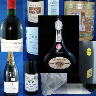 selling wine at online auctions