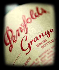 Penfolds Grange Hermitage at auction