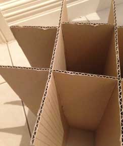 Recommended seperators for wine boxes to ship your wine